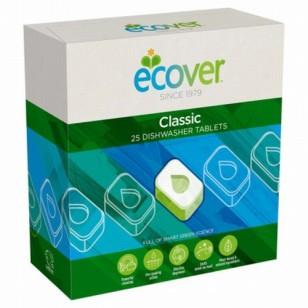 Indaplovių tabletės ECOVER, 500 g (25 tab.)